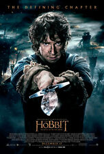 THE HOBBIT 3 BATTLE OF THE FIVE ARMIES MOVIE POSTER DS ORIGINAL FINAL VF 27x40