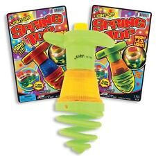 Light Up Bounce Spring Spin Top Autistic Toys / Special Needs Toys / Party Gifts