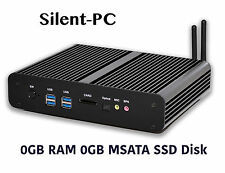 SILENT-PC senza ventole silenziose MINI PC HP computer desktop, Intel Core i5-5250u