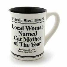 REALLY GOOD NEWS CAT MOTHER AWARD 16 OZ. MUG