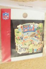 Super Bowl XLI 41 Dolphins Stadium crowd Fazzino pin