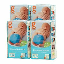gDiapers Disposable Inserts Case, Newborn/Small 6-14 lbs