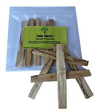 Palo Santo Palos-incienso-SANTO AUTENTICO-Bursera Graveolens X 5 Sticks