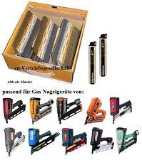 4600 +5x Gas 2,8x63 Ring Fuel Cell Pack Streifen Nägel für Gasnagler paslode
