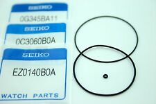 SEIKO GENUINE 3PC GASKET SET(BEZEL-CASE BACK-CROWN/STEM)FOR SKX007/009/011 ETC