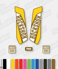 RockShox PIKE 2015 2016 2017 Repro Decals Stickers - 3 Colour Design Pk - Custom
