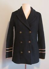 Madewell for J Crew Captain's Peacoat - size XS - Night Vision coat