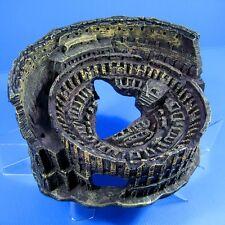 """Roman coliseum cave 9""""x7.8""""x4.3"""" Aquarium Ornament Decor aquatic Arena Colosseum"""