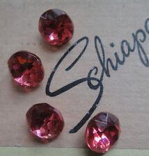 """Authentic Vtg Schiaparelli Iconic """"Shocking"""" Pink Stone - Jewelry Repair UNUSED"""