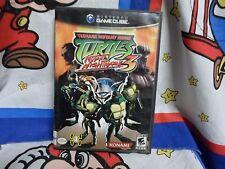 Nintendo GameCube Teenage Mutant Ninja Turtles 3: Mutant Nightmare Game COMPLETE
