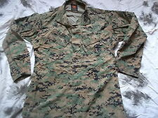 original genuine US MARINES USMC MARPAT MCCUU EGA woodland SHIRT JACKET M L
