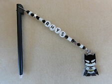 Personalised DSi DS Lite Stylus / Pen with charm Batman