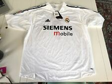 NEW MEN'S ADIDAS REAL MADRID HOME JERSEY RAUL #7 SZ XL NWT