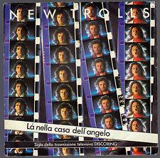 NEW TROLLS DISCO 45 GIRI LA' NELLA CASA DELL' ANGELO OST SIGLA TV DISCORING