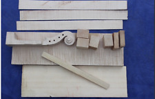 violin parts , one set of 4/4 size violin making material for luthier