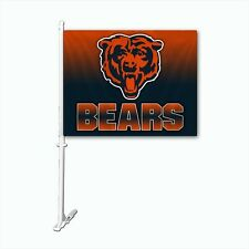 Chicago Bears Ombre Car Flag
