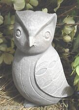 New latex AWESOME owl mold plaster mold concrete mold garden casting mould