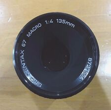 Used Pentax 135mm f4 macro for 67