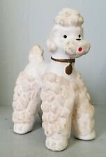 Vintage Japan? Poodle Ceramic Figurine Weather Forecaster ?