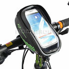 RockBros Bike Handlebar Bag Green For 5.5 Touch Screen Mobile Phon