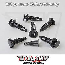10x PARAURTI GRIGLIA ANTERIORE radhaus clip di fissaggio per Toyota 5216120010 #neu