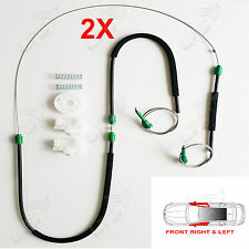 2X POLO 6N ELECTRIC WINDOW REGULATOR REPAIR KIT FRONT LEFT AND RIGHT 4/5 DOORS