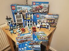 LEGO City Police Station Bundle (60047) (60044) (60128)