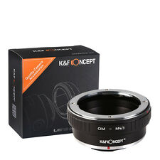 K&F Concept Olympus OM Lens adapter Ring  an Micro 4/3 M4/3 Olympus E-PL1 E-P2