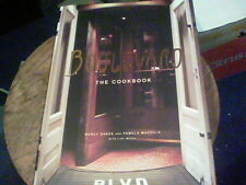 Boulevard the cookbook by Nancy Oakes and Pamela Mazzola  signed by s25