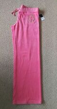 Juicy Couture Coral Velour Joggers Size XL