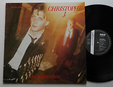 CHRISTOPHE J. Sons of Waterloo (+ INMATES) FRENCH ORIG LP RCA (1983) NWave NMINT