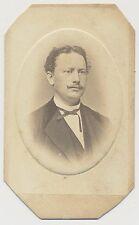 CDV foto Fulda/finos señor en el traje para 1890 (a138)