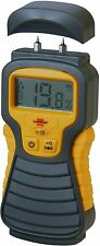 "2 PIN ""LCD Digital DAMP moisture Tester Detector Meter Plaster Wood Metal Cement"