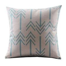 Arrows Cotton Linen Decorative Pillowcase Throw Pillow Cushion Cover Square HOT