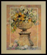 Willem Haenraets Blumen Poster Bild Kunstdruck im Alu Rahmen in schwarz 60x50cm