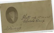 Antique Postcard 1906 Real Photo Charlie Chelsea Tramp