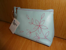 Brand New Embroidered Boots Cosmetic Purse