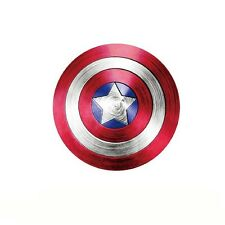 Captain America Superhero Shield Star Logo Vinyl Decal Reflective Car Sticker