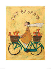 Sam Toft (Cat Baskets) Art Print   PPR44485   ART PRINT 40cm x 30cm