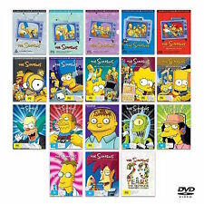 The Simpsons Complete Series DVD Set Season 1-17 Episodes TV Show Homer Animated