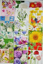 20 different Assorted Napkins for Decoupage exactly as shown in picture Set A