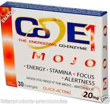 NEW Co-E1 THE ENERGIZING CO-ENZYME ENADA BOOSTING STAMINA MENTAL CLARITY CARE