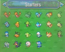 Complete SHINY Starters from All Regions 6IV Pokemon Sun/Moon Strategy Guide