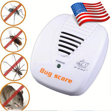 Electronic Ultrasonic Pest Control Repeller Rat Mosquito Mouse Insect Rodent Hot