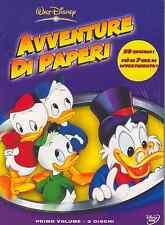 Dvd AVVENTURE DI PAPERI Vol.1 Box 3 Dvd 20 Episodi 7 ore di Divertimento ..NUOVO