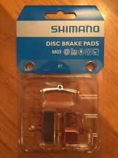Shimano M03 Metal Disc Brake Pads and Spring for XT  SLX ALFINE BR-M755 Calipers