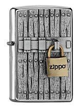 ZIPPO Flame Padlock Emblem brand new Spring 2017 - free worldwide shipping
