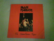 nwobhm IRON MAIDEN The Soundhouse Tapes EX/NRM 80s BLUE VINYL 1st (?) REISSUE