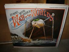 JEFF WAYNE war of the worlds ( rock ) 2lp uk - booklet -