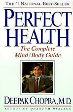 Perfect Health: The Complete Mind/Body Guide by Deepak Chopra -BOGO on all books